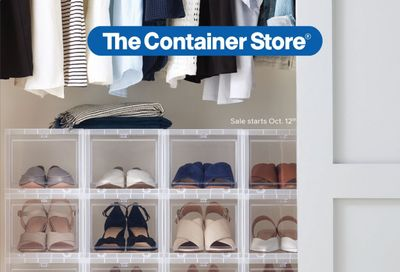 The Container Store Weekly Ad Flyer October 31 to November 7