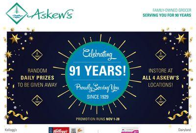 Askews Foods Flyer November 1 to 7