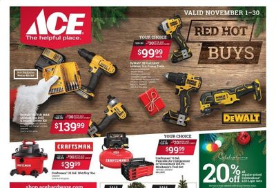 ACE Hardware Weekly Ad Flyer November 1 to November 30
