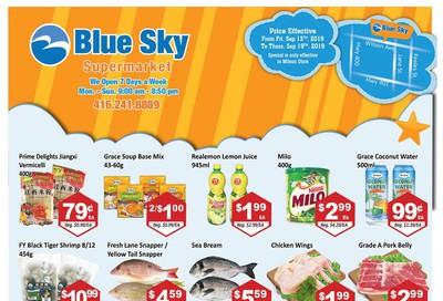 Blue Sky Supermarket (North York) Flyer September 13 to 19