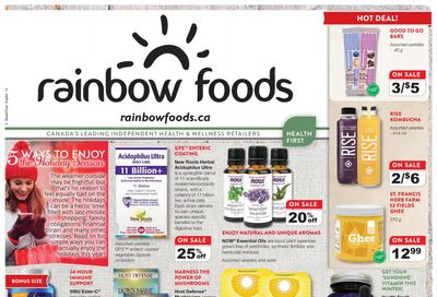 Rainbow Foods Health First Flyer November 1 to 30