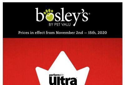 Bosley's by PetValu Flyer November 2 to 15