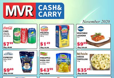 MVR Cash and Carry Flyer November 1 to 30
