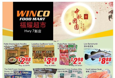WinCo Food Mart (HWY 7) Flyer September 12 to 18
