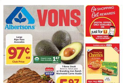Albertsons Weekly Ad Flyer November 4 to November 10