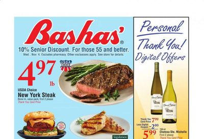 Bashas' (AZ) Weekly Ad Flyer November 4 to November 10