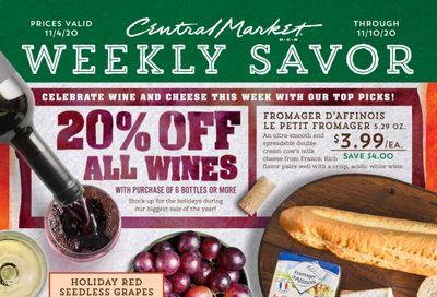 Central Market (TX) Weekly Ad Flyer November 4 to November 10