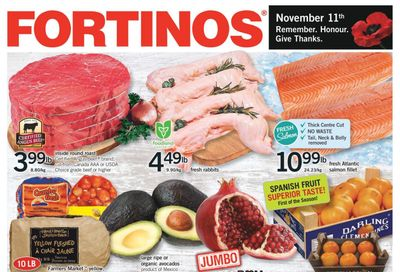 Fortinos Flyer November 5 to 11