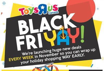 Toys R Us Black FriYay Flyer November 5 to 8