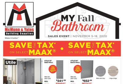 McMunn & Yates Building Supplies Flyer November 5 to 18