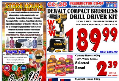 Fredericton Co-op Flyer November 5 to 11