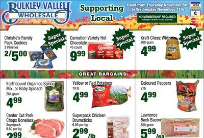 Bulkley Valley Wholesale Flyer November 5 to 11