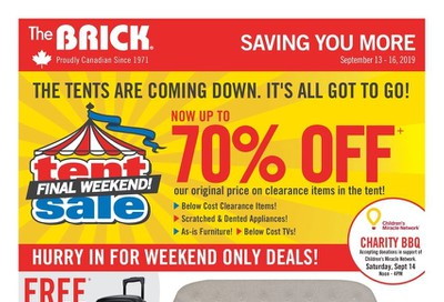 The Brick Flyer September 13 to 16