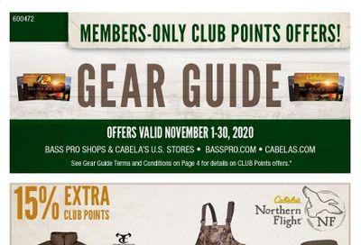 Cabela's Weekly Ad Flyer November 1 to November 30
