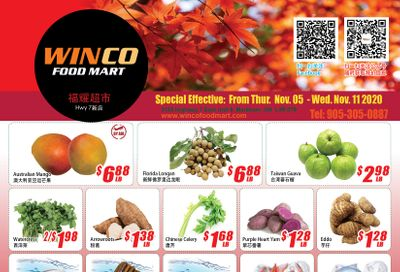 WinCo Food Mart (HWY 7) Flyer November 5 to 11