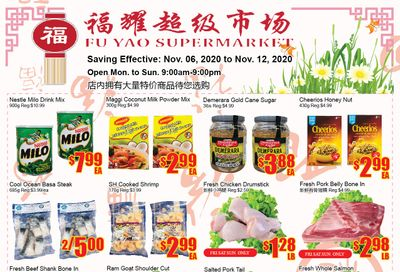 Fu Yao Supermarket Flyer November 6 to 12