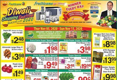 Fruiticana (Calgary) Flyer November 5 to 15