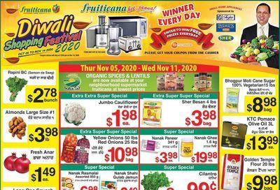 Fruiticana (Edmonton) Flyer November 5 to 11