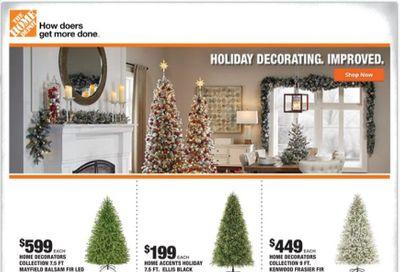 The Home Depot Weekly Ad Flyer November 5 to November 8