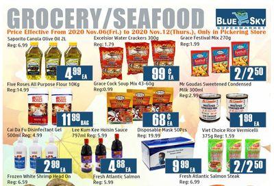 Blue Sky Supermarket (Pickering) Flyer November 6 to 12