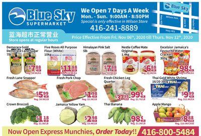 Blue Sky Supermarket (North York) Flyer November 6 to 12
