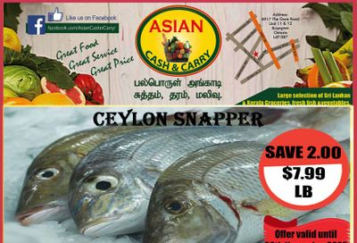 Asian Cash & Carry Flyer November 6 to 12