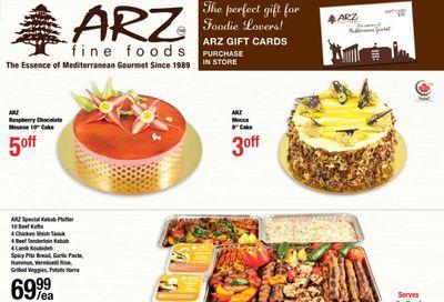 Arz Fine Foods Flyer November 6 to 12