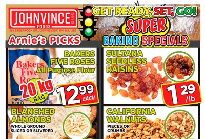 Johnvince Foods Flyer September 14 to 27