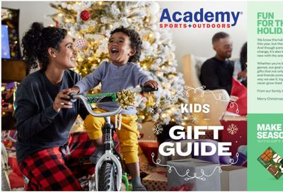 Academy Sports Weekly Ad Flyer November 1 to December 25
