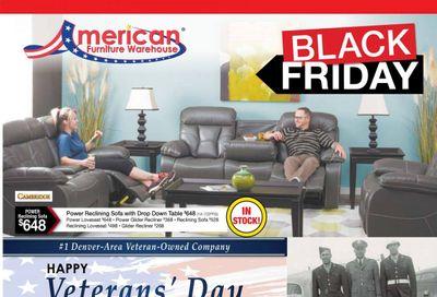 American Furniture Warehouse (CO) Weekly Ad Flyer November 8 to November 14