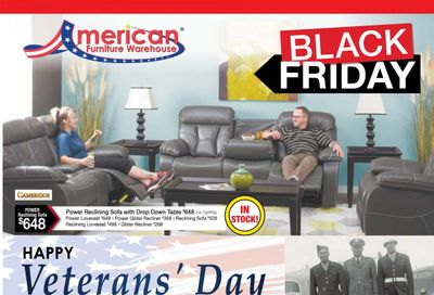 American Furniture Warehouse (TX) Weekly Ad Flyer November 8 to November 14