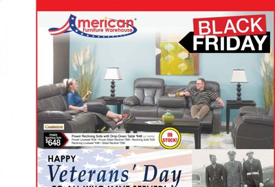 American Furniture Warehouse (AZ) Weekly Ad Flyer November 8 to November 14