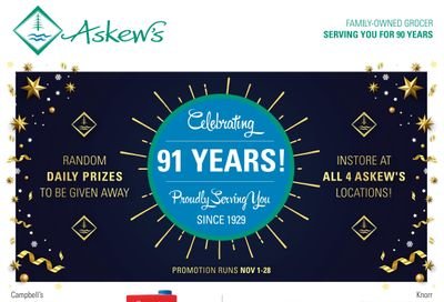 Askews Foods Flyer November 8 to 14