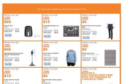 Costco (ON & Atlantic Canada) Weekly Savings November 9 to 22