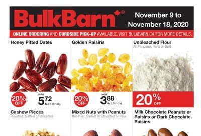 Bulk Barn Flyer November 9 to 18