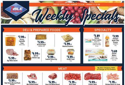7 Mile Market Weekly Ad Flyer November 8 to November 14