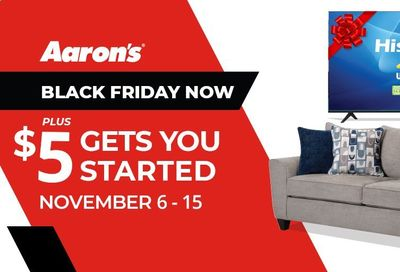 Aaron's Weekly Ad Flyer November 6 to November 15