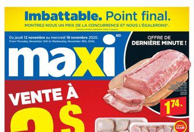 Maxi Flyer November 12 to 18