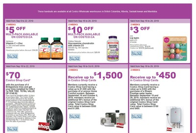 Costco (BC, AB, SK and MB) Weekly Savings September 16 to 22