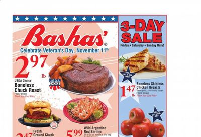 Bashas' (AZ) Weekly Ad Flyer November 11 to November 17
