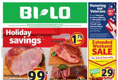 BI-LO Weekly Ad Flyer November 11 to November 17
