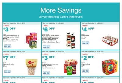 Costco Business Centre (Scarborough, ON) Instant Savings Flyer September 16 to 29