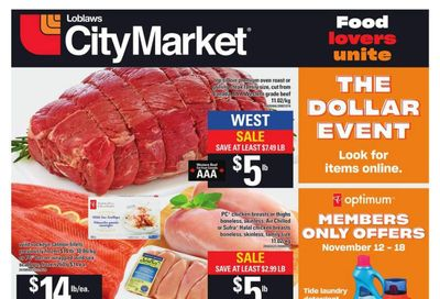 Loblaws City Market (West) Flyer November 12 to 18