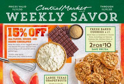 Central Market Weekly Ad Flyer November 11 to November 17, 2020