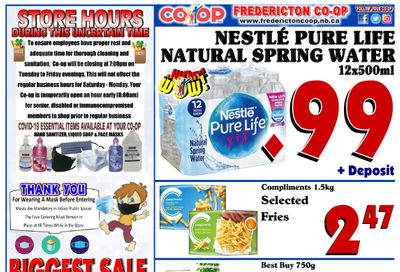Fredericton Co-op Flyer November 12 to 18