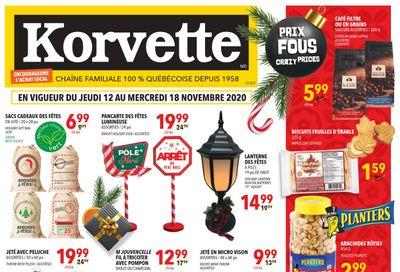 Korvette Flyer November 12 to 18