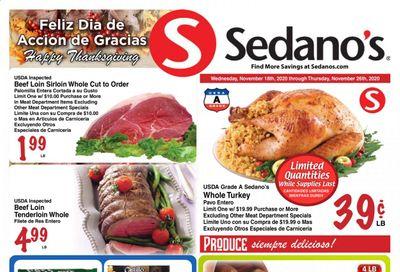 Sedano's (FL) Weekly Ad Flyer November 18 to November 26