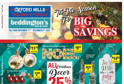 Beddington's Flyer November 11 to December 8