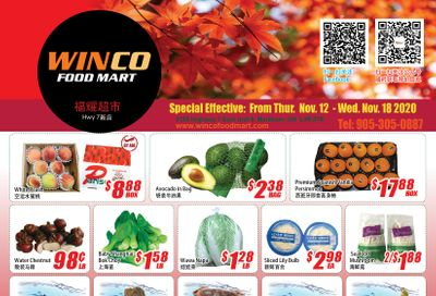 WinCo Food Mart (HWY 7) Flyer November 12 to 18