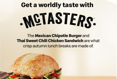 McDonald's Canada McTasters for $3.19